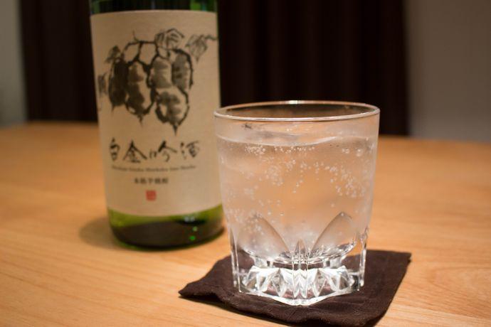 """おすすめ焼酎「白金吟酒」:吟醸酵母を使った珍しい焼酎!?絶対に""""冷や""""がおすすめ!"""