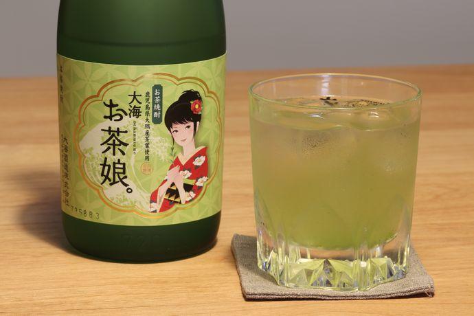 大海 お茶娘。:大隅産のお茶と紅おとめの出会い!お茶とお芋でこんなに美味しい焼酎が生まれるとは!