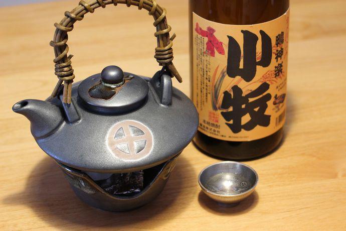 小牧 鴨神楽:無農薬合鴨米米麹を使った甕壺仕込みの焼酎